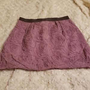 J. Crew mini skirt, size 0, may be NWOT, floral